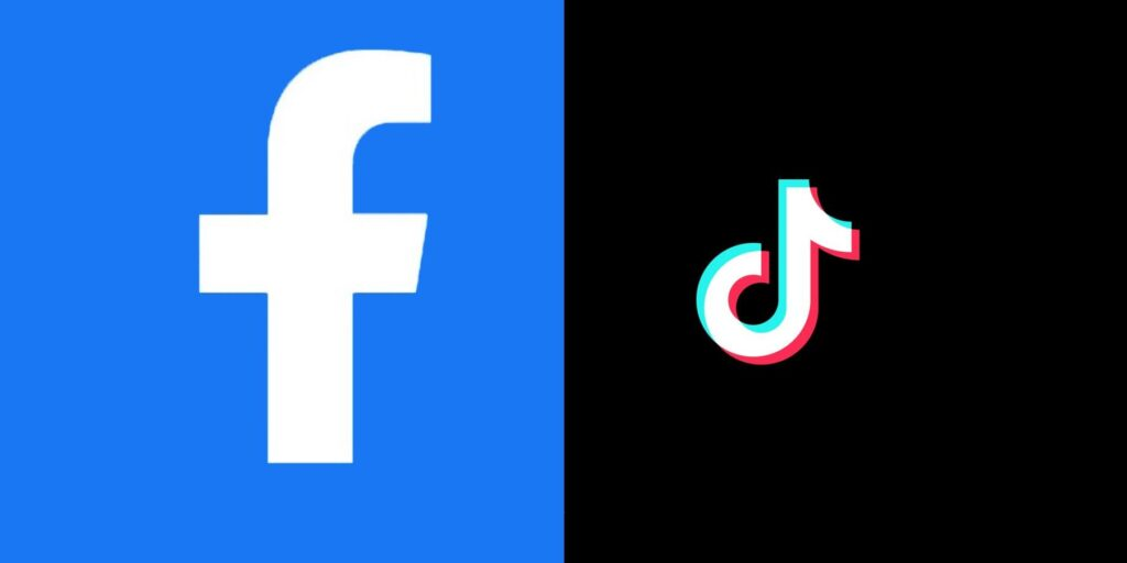 Facebook vs tiktok in India